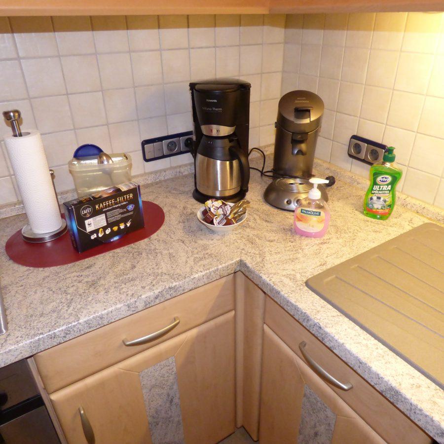 Kaffee, Seife, Tücher....