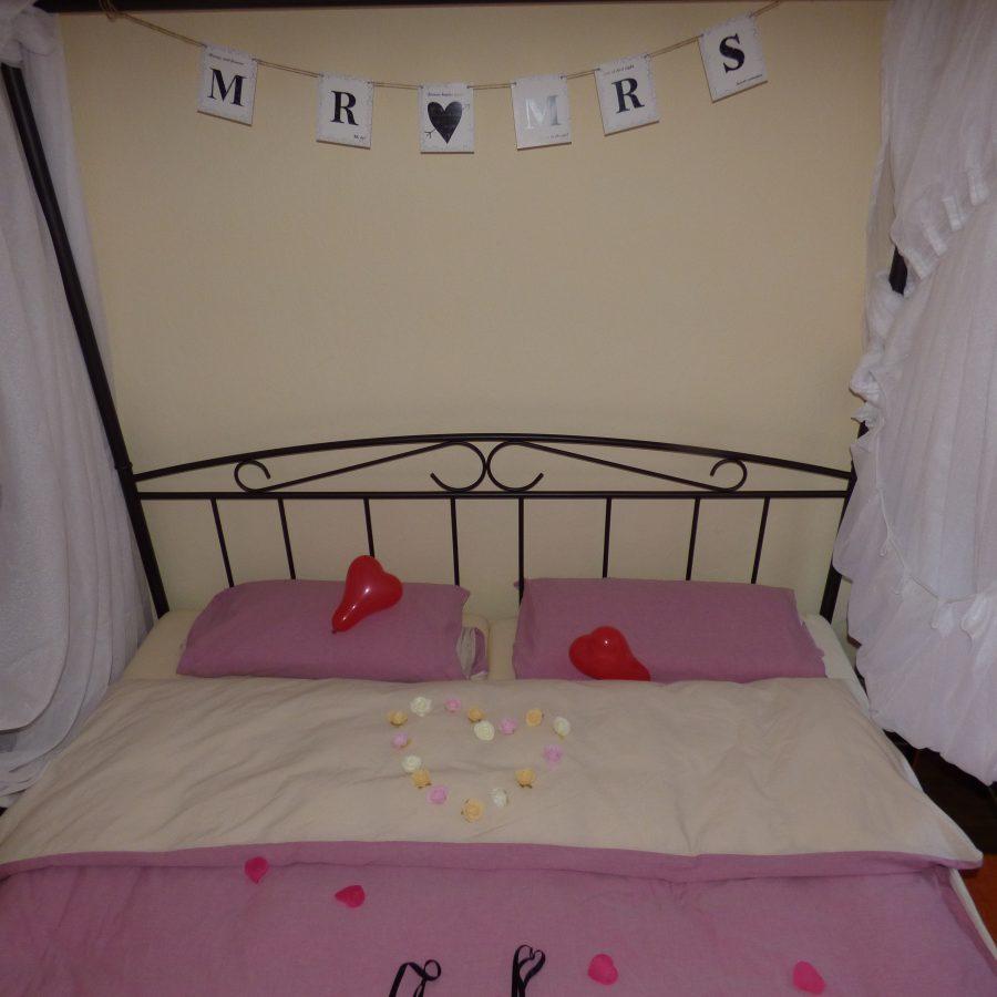 als Hochzeitszimmer geeignet....